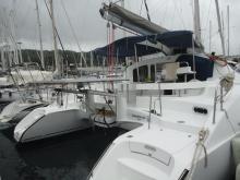 Lavezzi 40: In the marina
